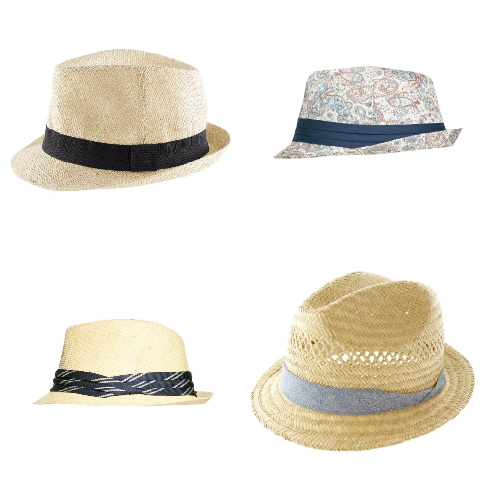655c74b5 Top left: H&M straw hat $10; Zara paisley print hat ...